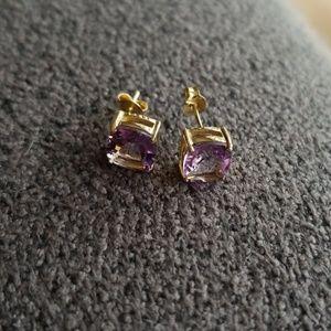 Jewelry - Amethyst stud earrings